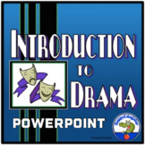 Introduction to Drama PowerPoint Lesson Distance Learning