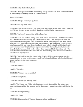 Drama - James of Galillee - Readers Theater or Radio Script