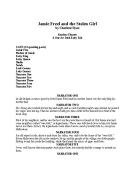 Drama - Jamie Freel and the Stolen Girl
