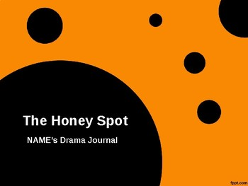 Drama Journal Powerpoint
