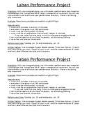 Drama Laban Technique Performance Project