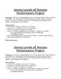 Drama Lecoq's Seven Levels of Tension Technique Performance Project