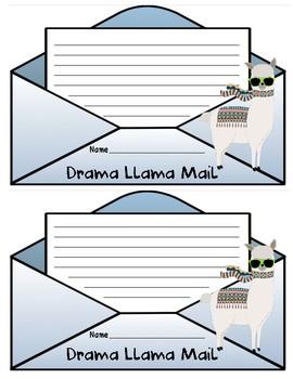Drama Llama Mail