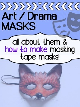 Art and Drama - Mask Project