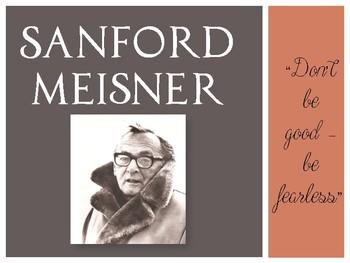 Drama Meisner Acting Method Powerpoint