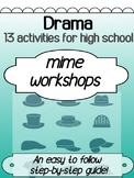 Drama - Mime activities and games for high school