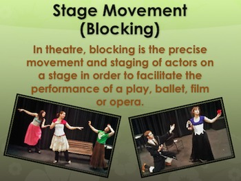 Performance Elements In Drama Section