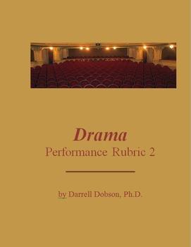 Drama -- Performance Rubric 2