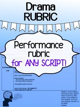 Drama - Performance RUBRIC