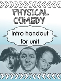 Drama - Physical Comedy handout