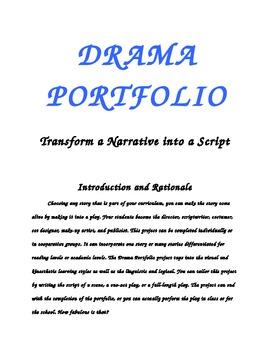 Drama Portfolio-Change a Narrative to a Play