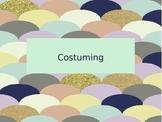 Drama Power Point - Costume Design