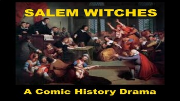 Drama PowerPoint - Witches of Salem - Comic History
