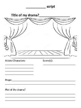 Drama Quiz and activity