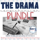 Drama - Readers Theater Comprehension Passages & Vocabulary Activity- BUNDLE