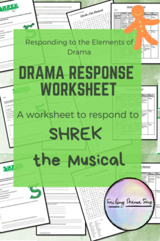 Drama Response - Shrek the Musical