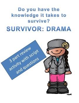 Drama Review Game: Survivor Theme
