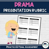 Drama Rubric - Practice and Final Presentation