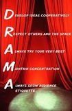 Drama Rules and Norms