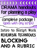 Drama bundle - Planning a play - for high school