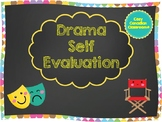 Drama Self Evaluation - No Prep
