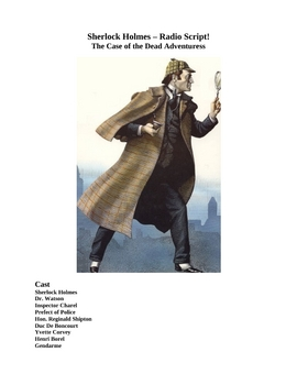 Drama - Sherlock Holmes - The Case of the Dead Adventuress