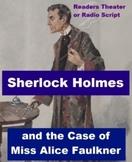 Drama - Sherlock Holmes and Miss Alice Faulkner