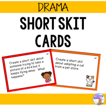 Drama - Short Skit Cards