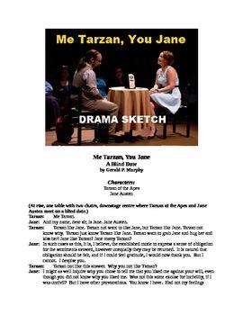 Drama Sketch - Me Tarzan, You Jane