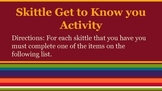 Drama Skittle Get to know you game