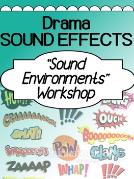 Drama - Sound Effects - Radio play activity for high school