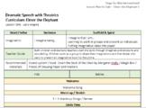 Drama/Speech Lesson Plan: Lesson One of Elmer the Elephant