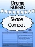 Drama - Stage Combat RUBRIC