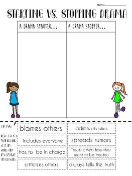 Drama Starter vs. Drama Stopper