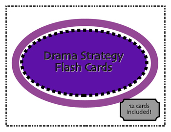 Drama Strategies/Technique Flashcards