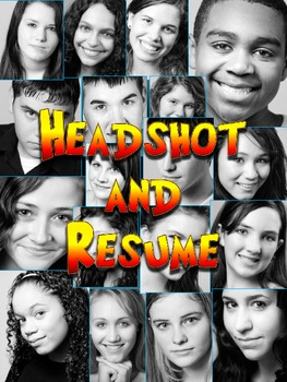DRAMA STUDENT'S HEADSHOT AND RESUME