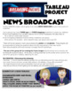 Drama Tableau Project for High School - BREAKING NEWS!