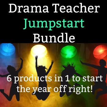 Drama Teacher Jumpstart Bundle - 6 products in 1 to start your year off right!