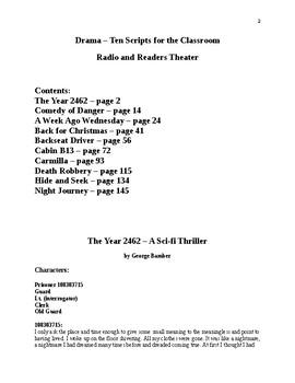 Drama - Ten Scripts for the Classroom