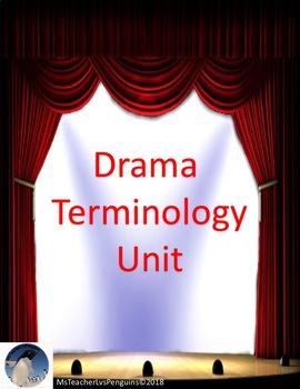 Drama Terminology Unit