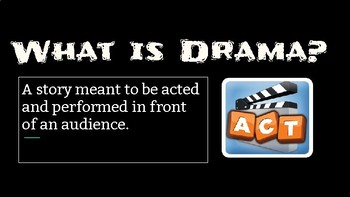 Drama Terms!
