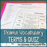 Drama Terms & Quiz