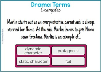 Drama Terms Quiz - Digital Version