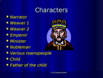 Drama - The Emperor's New Clothes Reader's Theater PowerPoint