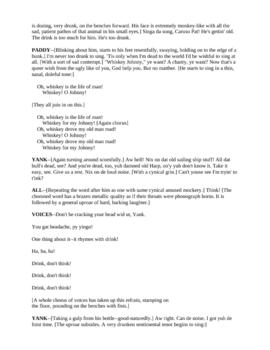 Drama - The Hairy Ape by Eugene O'Neill
