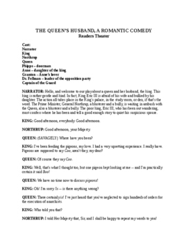 Drama - The Queen's Husband - Romantic Comedy