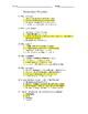 Drama Theatre Arts Shakespeare and Drama Quiz/Key