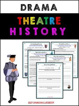 Drama: Theatre History Web Quest