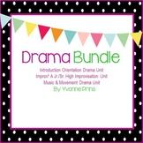 Drama Unit Bundle