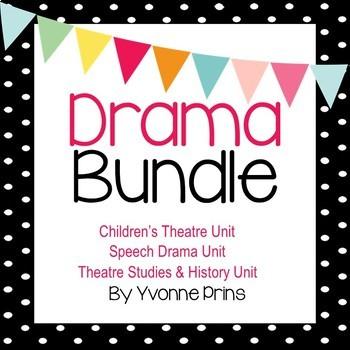 Drama Unit Bundle 2